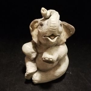 Vintage, 1998 Baby Indian Elephant figurine